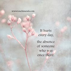 It hurts every day ...