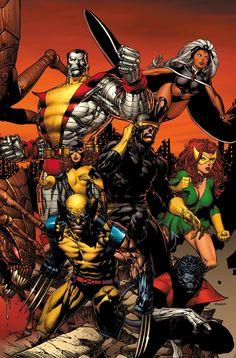 Uncanny X-Men by David Finch