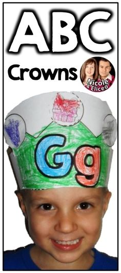 Have fun learning letters & sounds with these cute crowns! :)