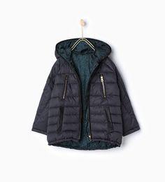 ZARA - ДЕТИ - Куртка стеганая двусторонняя
