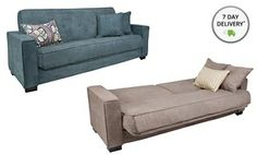 Groupon - Handy Living Convert-a-Couch with 3 Throw Pillows. Multiple Colors Available. in Online Deal. Groupon deal price: $299.99