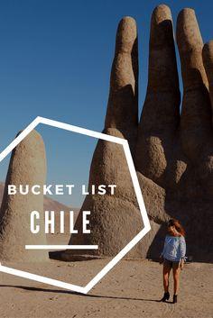 Chile bucket list