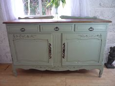 Painted French buffet  http://www.dazzlevintagefurniture.co.uk