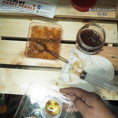 Last week tasted the Kelulut Honey. Made just like the Salmon Roe with popping effect. Love the sourish sweet taste  #HPPNK2017 #MFF2017 #moa #ourfoodourfuture #MelepasKalauTerlepas #hppnk25