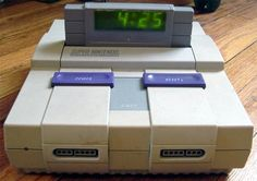 SNES Alarm Clock