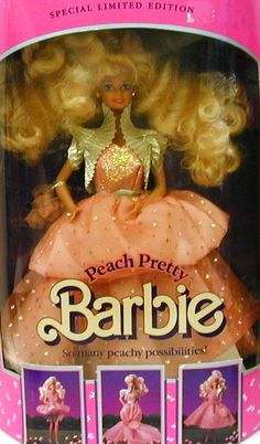 Peach Pretty Barbie