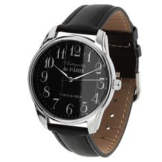 Antiques de Paris Watch Men and Women Casual Wristwatch Stainless Steel Watches - Wristwatches