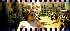My girl under the Porto Sun!