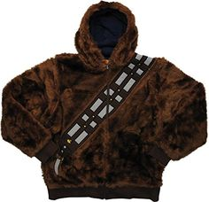 Star Wars Chewbacca Han Solo Reversible Hoodie - XXX-Large @ niftywarehouse.com #NiftyWarehouse #Geek #Products #StarWars #Movies #Film