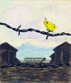 """Arte del Holocausto  """"Una primavera"""" Karl Bodek(1905-1942) y Kurt Löw (1914-1908)"""