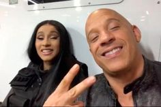 Fast and Furious Cardi B joins the cast It's official, the rapper Cardi B is now part of the cast of the Fast and Furious franchise. John Cena, Cardi B, Fast And Furious, Vin Diesel, Rapper, It Cast, Cosplay, Superhero, Instagram