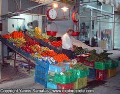 heraklion central market