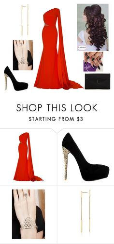 """""""Princess"""" by paoladouka on Polyvore featuring Alex Perry, Blue Nile and Yves Saint Laurent"""