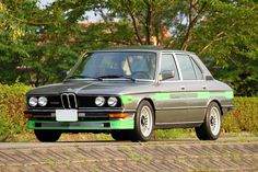 1981 E12 Alpina B7 Turbo in Anthrazitgrau