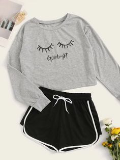 Cute Lazy Outfits, Teenage Outfits, Outfits For Teens, Stylish Outfits, Clothes For Teens, Really Cute Outfits, Girls Fashion Clothes, Teen Fashion Outfits, Mode Outfits