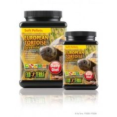 Soft tortoise food formulated to ensure proper growth and health.