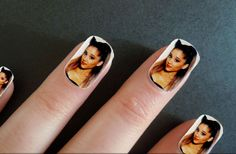 Wear these nails and you'll get to take Ariana Grande wherever you go.