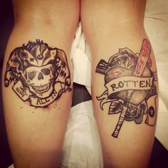 Harley Quinn Diamond Pattern Tattoo Google Search border=