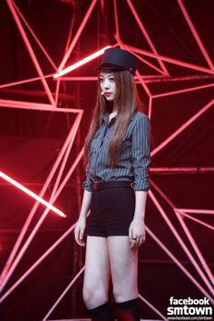 Sulli fx Modest yet cool outfit