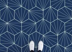 Art Deco Tiles Vinyl Flooring, leading Vinyl Flooring designed and manufactured by Atrafloor. Bring any design concept to life as Flooring. Ships Worldwide.