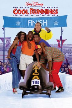 Cool Runnings Directed by Jon Turteltaub. With John Candy, Leon, Doug E. Doug, Rawle D. Based on the true story of the first Jamaican bobsled team trying to make it to the winter Olympics. Family Movie Night, Family Movies, Movies And Series, Movies And Tv Shows, Rasta Rockett, John Candy, Love Movie, Movie Tv, Movie List