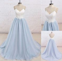 Trendy Wedding Dresses Ball Gown With Straps Senior Prom Mermaid Prom Dresses Lace, Gold Bridesmaid Dresses, Grad Dresses, Tulle Prom Dress, Dance Dresses, Ball Dresses, Ball Gowns, Wedding Dresses, Homecoming Dresses
