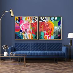 Abstract Canvas Art, Abstract Painting Modern, Best Abstract Paintings, Long Painting, Art Deco Paintings, Acrylic Artwork, Silver Leaf Painting, Colorful Artwork, Colorful Abstract Art