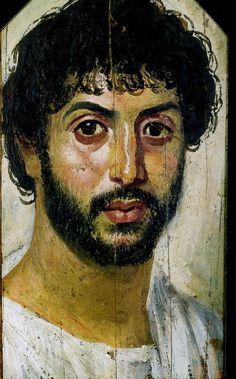 forma es vacío, vacío es forma: Retratos de Fayum - pintura, arqueología