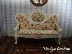 My version of De Agostini's sofa.