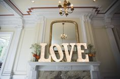 LOVE Marquee Letter | Wedding Sign | Photo Credit: Karolina Turek