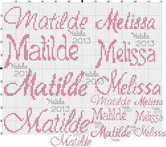 "Photo from album ""Schemi - Natalia/ Схемы - Natalia"" on Yandex. Crochet Stitches Patterns, Stitch Patterns, Cross Stitch Letters, Views Album, Cross Stitch Embroidery, Needlepoint, Bullet Journal, Author, Yandex Disk"
