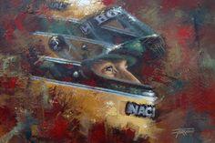 Veja as pinturas de Juan Carlos Ferrigno e Roberto Muccillo, especialistas neste tipo de obras