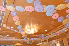"""""""Cute as a Button"""" Decorations {Baby Shower Theme}"""