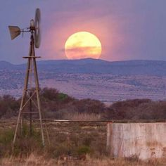 Dawn And Dusk, Wind Turbine, South Africa, Remote, My Photos, Sunrise, Nature, Pictures, Windmills