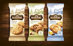 Beskydské cookies #flexo #packaging