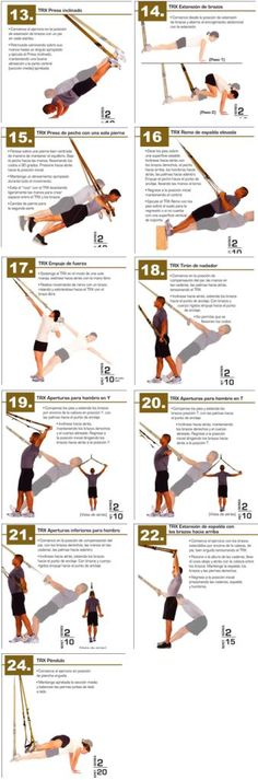 67 Ideas Fitness Workouts Trx Suspension Training For 2019 Fitness Workouts, Fitness Hacks, Sport Fitness, Mens Fitness, Yoga Fitness, At Home Workouts, Fitness Motivation, Trx Workout, Health Fitness