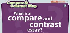 comparison essay styles