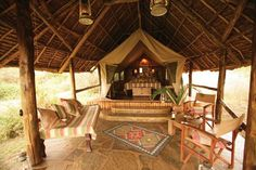 Tortilis Camp in Africa: Stunning Views of Kilimanjaro