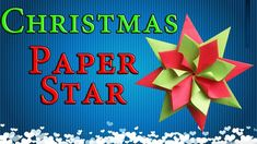 Learn  how to make very simple Christmas #decorationsoutofpaper stars to decorate your room, home for New Year party ideas.