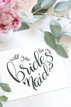 Brides Maid Proposal, Bridesmaid Proposal Cards, Be My Bridesmaid Cards, Bridesmaids, Bridesmaid Gifts Will You Be My, Bridesmaid Letter, Bridesmaid Boxes, Wedding Titles, Wedding Proposals