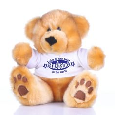 Best Husband Personalised Valentines Day Teddy Bear