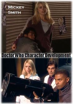 Mickey Smith: Now that is character development. Doctor Who style!--> And something many people over look about Mickey Smith. He went on protecting Earth and the universe, but people seem to forget that.