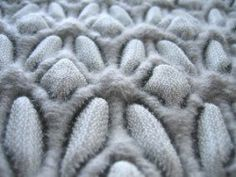 Architextile is the collection of three dimensional weave structures by textile designer Aleksandra Gaca