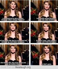 Jennifer Lawrence and her brothers