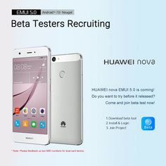 Huawei Nova Android 7.0 Nougat Update: Beta-Tester gesucht