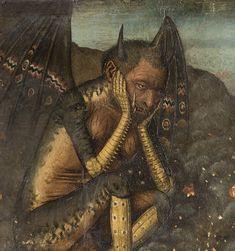 miscellaneous-art:  Bartolomé Bermejo, Descent of Christ into Limbo, c. 1475.Museu Nacional D'Art de Catalunya