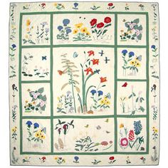 1000 Images About Wildflower Quilt On Pinterest Quilt
