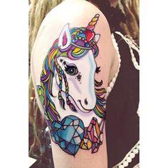 lisa frank tattoo! Look...@Kristy Lumsden Lumsden Meredith