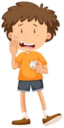 Ni�o peque�o que se cavidad del diente ilustraci�n Goal Setting Activities, Activities For Kids, Emotions Cards, Carson Dellosa, Medical Illustration, Tooth Fairy, Dental Health, New Words, Learn English
