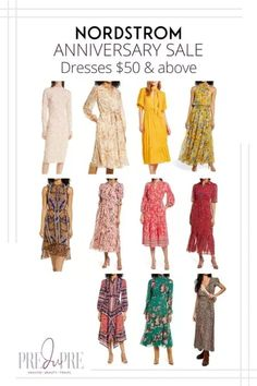 Great finds at the Nordstrom Anniversary Sale. I've rounded up my top picks in dresses above $50. Midi Shirt Dress, Long Sleeve Midi Dress, Summer Outfits Women, Fall Outfits, Warm Weather Outfits, Nordstrom Anniversary Sale, Weekend Wear, Get Dressed, Dresses For Sale
